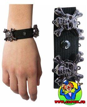 Bracelet élastique avec araignées
