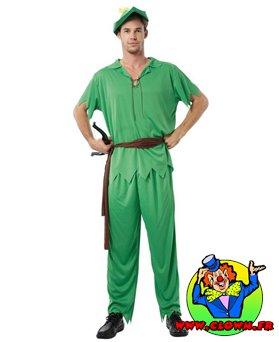 Déguisement adulte Peter Pan