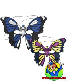 Loup tissu papillon