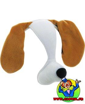 Serre tête animal bruiteur chien