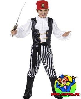 Déguisement enfant pirate