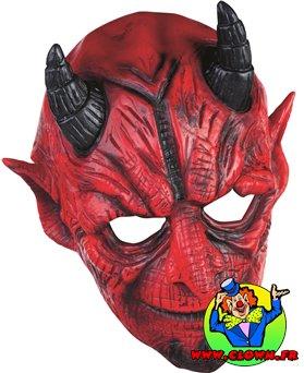 Masque souple adulte Diable