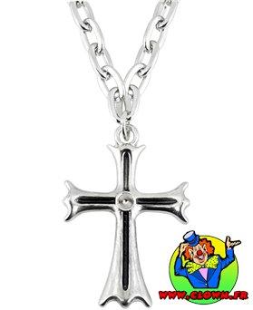 Collier croix gothique