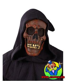 Masque de revenant marron