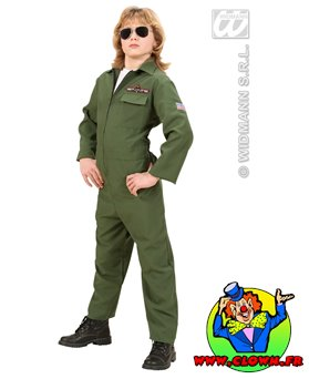 Déguisement pilote de jet