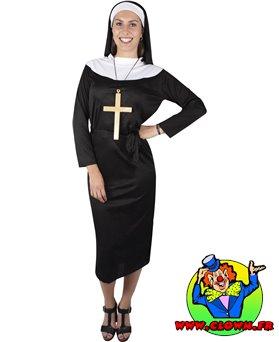 Déguisement adulte religieuse