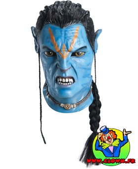 Masque intégral adulte latex Jake Sully™