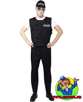 Déguisement adulte policier