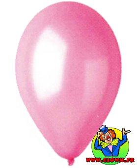 Ballons nacrés rose