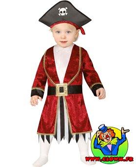 Déguisement de pirate baby