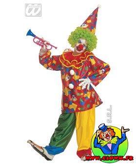 Déguisement de clown drôle