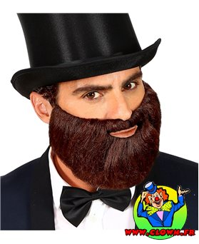 Barbe brune personnage