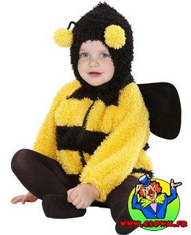 Déguisement d'abeille fuzzy