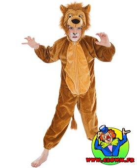 Déguisement Lion de la jungle