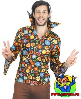 Chemise hippy love