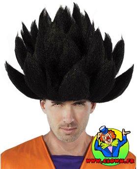Perruque DRAGON BALL noir