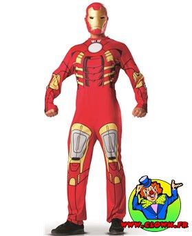 Location déguisement Iron man dessin annimé