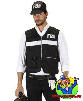 Déguisement enquêteur FBI