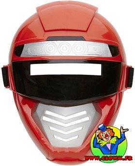 Masque de robot rouge