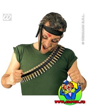Bandoulières de chaîne de balle Rambo