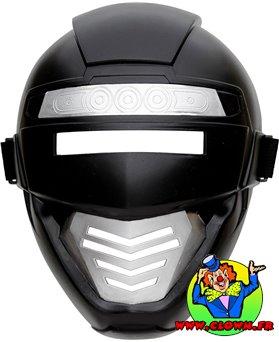 Masque de robot noir