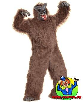 Déguisement d'ours brun