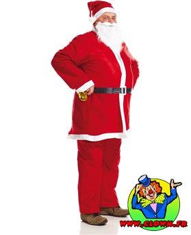Déguisement de Père Noël N°1