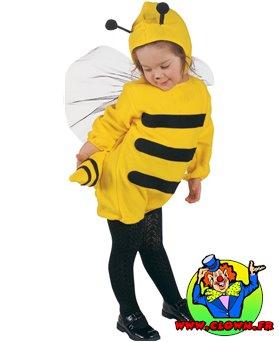 Déguisement d'abeille