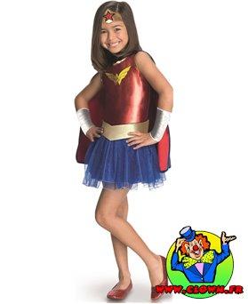 Déguisement classique Wonder Woman Comic Book