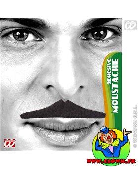 Moustache normal noir N°4