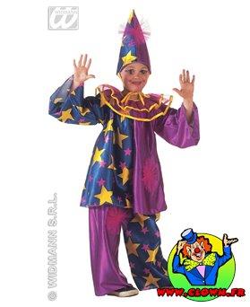 Déguisement de clown violet