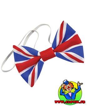 Noeud de papillon anglais union jack