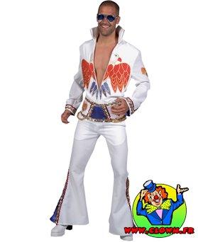 Location déguisement Elvis King