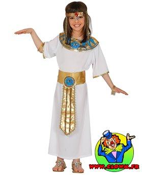 Déguisement égyptienne cléopatre