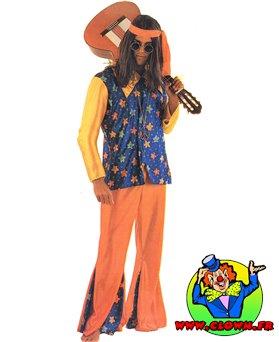 Location déguisement Hippie homme