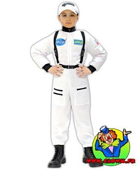 Déguisement enfant astronaute