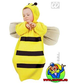Déguisement de mini abeille