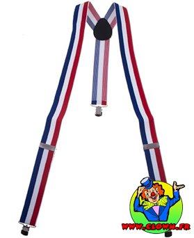 Bretelle France tricolore
