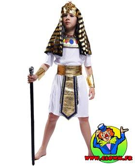 Déguisement enfant égyptien