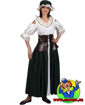 Location déguisement Paysanne médiéval