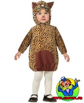 Déguisement léopard bébé