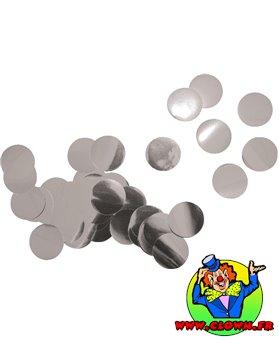 Confettis métal argent