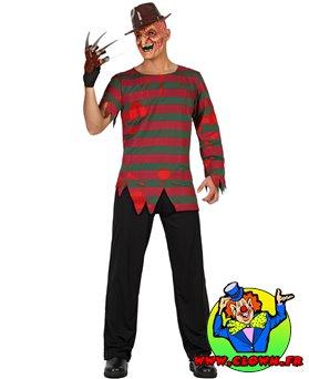 Déguisement ensanglanté Freddy