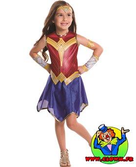 Déguisement classique Wonder Woman Justice League