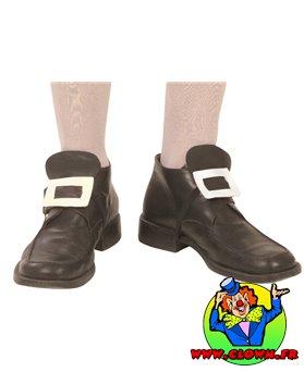 Boucles de chaussures argent
