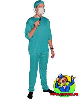 Déguisement adulte chirurgien
