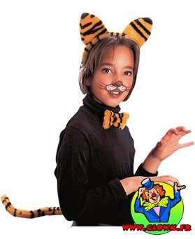 Set tigre enfant