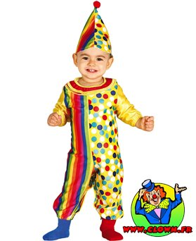 Déguisement Clown bébé