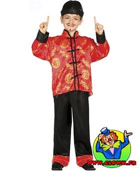 Déguisement chinois enfant