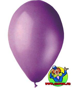 Ballons nacrés lavande
